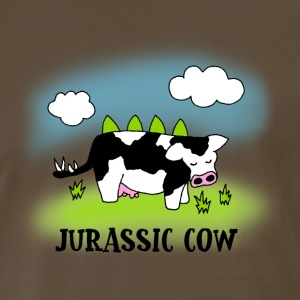 Jurassic Cow - Evolution of Milk - Men's Premium T-Shirt