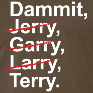 Funny Jerry Garry Larry and Terry T shirt - Men's Premium T-Shirt