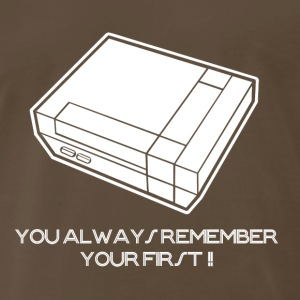 You Always Remember Your First Video Arcade Game G - Men's Premium T-Shirt