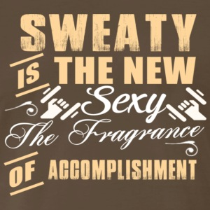 SWEATY IS A NEW SEXY - Men's Premium T-Shirt