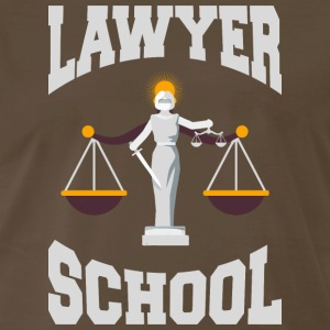 Lawyer School Future Lawyer Law Student Attorney T - Men's Premium T-Shirt