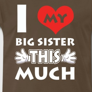 Love Big Sister tshirt - Men's Premium T-Shirt