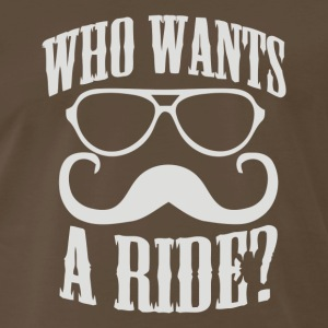 Who Wants To Ride - Men's Premium T-Shirt