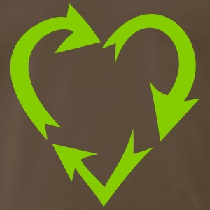 environment nature love (variable colors!) - Men's Premium T-Shirt