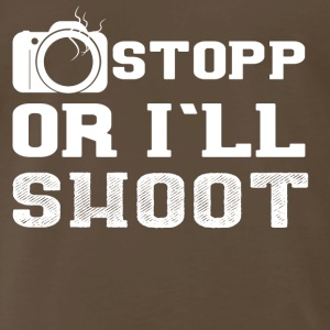 photography photographer T-Shirt funny present - Men's Premium T-Shirt