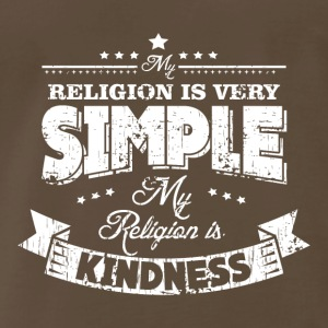 MY RELIGION IS KINDNESS - Men's Premium T-Shirt