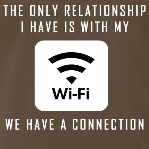 Single Pun Joke Funny Wifi Joke Graphic