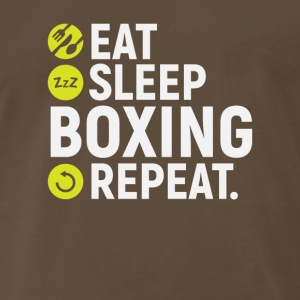 Eat, sleep, boxing, repeat - gift - Men's Premium T-Shirt