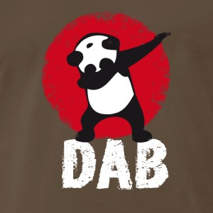 DAB Panda red touchdown dabbing dab it phrase lol - Men's Premium T-Shirt