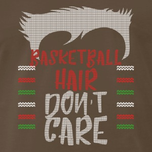 Ugly sweater christmas gift for Basketball - Men's Premium T-Shirt
