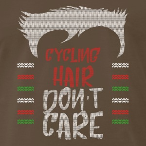 Ugly sweater christmas gift for cycling - Men's Premium T-Shirt