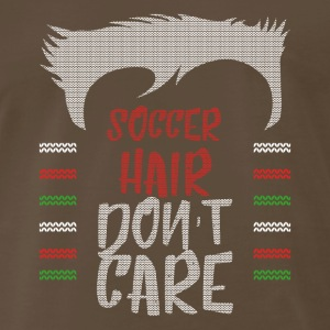 Ugly sweater christmas gift for soccer - Men's Premium T-Shirt