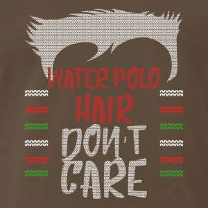 Ugly sweater christmas gift for Water polo - Men's Premium T-Shirt