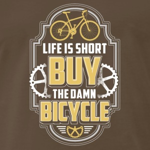 Buy bicycle Biker cycling Gift Present - Men's Premium T-Shirt