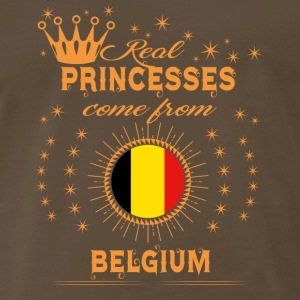 love princesses come from BELGIUM - Men's Premium T-Shirt