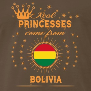 love princesses come from BOLIVIA - Men's Premium T-Shirt