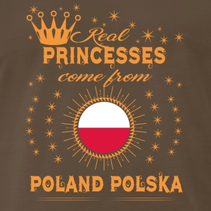 love princesses come from POLAND POLSKA POLAND - Men's Premium T-Shirt