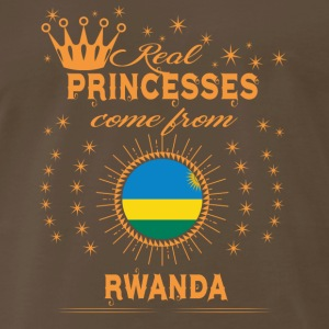 love princesses come from RWANDA - Men's Premium T-Shirt
