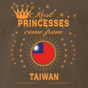 love princesses come from TAIWAN - Men's Premium T-Shirt