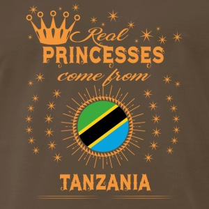 love princesses come from TANZANIA - Men's Premium T-Shirt