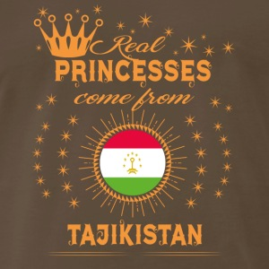 love princesses come from TAJIKISTAN - Men's Premium T-Shirt