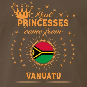 love princesses come from VANUATU - Men's Premium T-Shirt