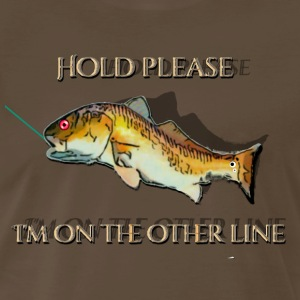 Red Drum I'm OnThe Other Line - Men's Premium T-Shirt