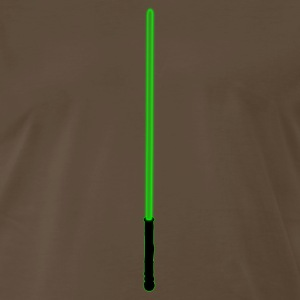 Green Lightsaber - Men's Premium T-Shirt