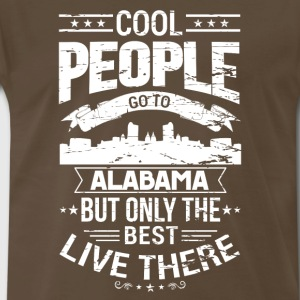 Alabama, only the best live there - Men's Premium T-Shirt