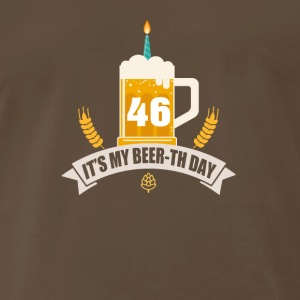 It s My Beer th Day 46 Years Old - Men's Premium T-Shirt