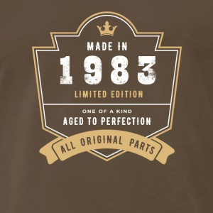 Made In 1983 Limited Edition All Original Parts - Men's Premium T-Shirt