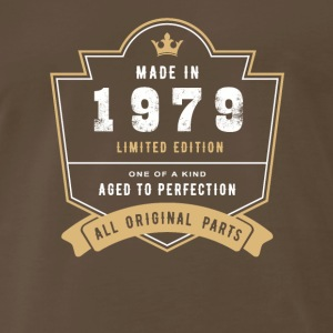 Made In 1979 Limited Edition All Original Parts - Men's Premium T-Shirt