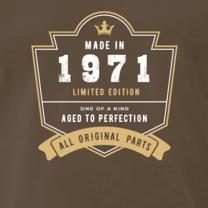 Made In 1971 Limited Edition All Original Parts - Men's Premium T-Shirt