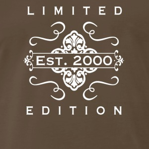 Limited Edition Est 2000 - Men's Premium T-Shirt