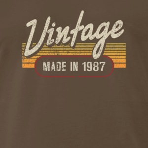 Vintage MADE IN 1987 - Men's Premium T-Shirt