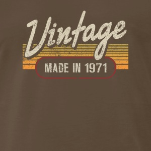Vintage MADE IN 1971 - Men's Premium T-Shirt