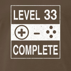 Level 33 Complete - Men's Premium T-Shirt