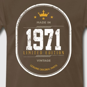 Made In 1971 Limited Edition Vintage - Men's Premium T-Shirt