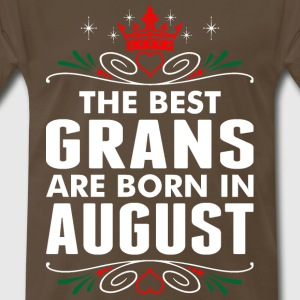 The Best Grans Are Born In August - Men's Premium T-Shirt