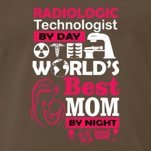 radiologic technologist by day best mom by night - Men's Premium T-Shirt