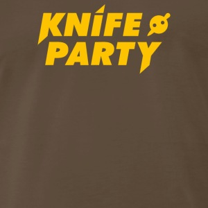 Knife Party Electro House - Men's Premium T-Shirt
