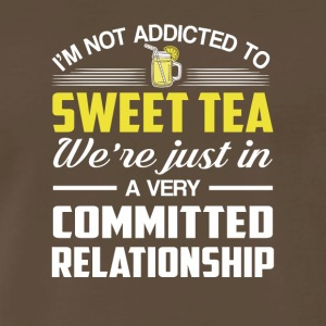 Sweet Tea Were Committed Relationship - Men's Premium T-Shirt