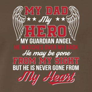 Guardian Angel Dad Never Gone From Heart - Men's Premium T-Shirt