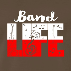 band life shirt - Funny Gifts for Music Lovers - Men's Premium T-Shirt