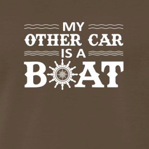 My Other Car Is A Boat Boating Love Shirt - Men's Premium T-Shirt