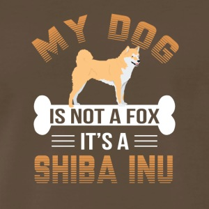 My Dog Is Not A Fox It's A Shiba Inu - Men's Premium T-Shirt
