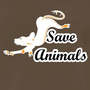 save animals - Men's Premium T-Shirt