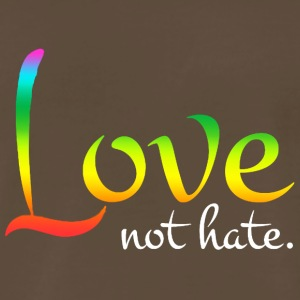 Love no Hate - Men's Premium T-Shirt