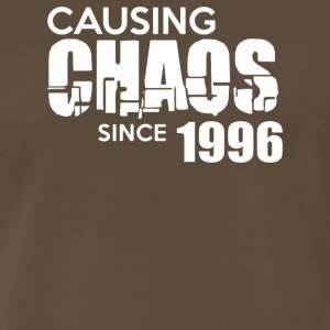 Causing Chaos Since 1996 - Men's Premium T-Shirt