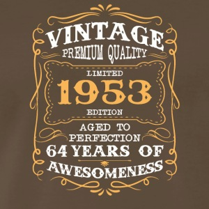 Limited Edition 1953 64 years of awesomeness - Men's Premium T-Shirt